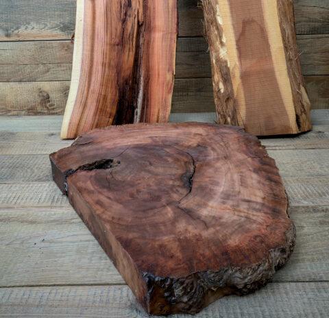 Druck auf Holz auf originellen und ausgefallenen Holzarten