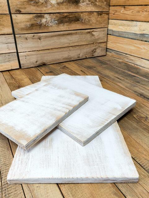 Holzdruck auf der Seekiefer mit Vintage-Look