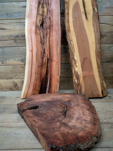 Bei der Vielfalt vom Holz zeigt sich die Natur von seiner schönsten Seite