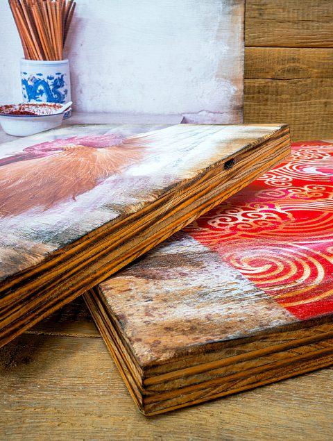 Kein Stück Holz hat eine identische Textur