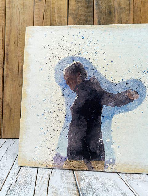 Drucke dein ganz eigenes Kunstwerk