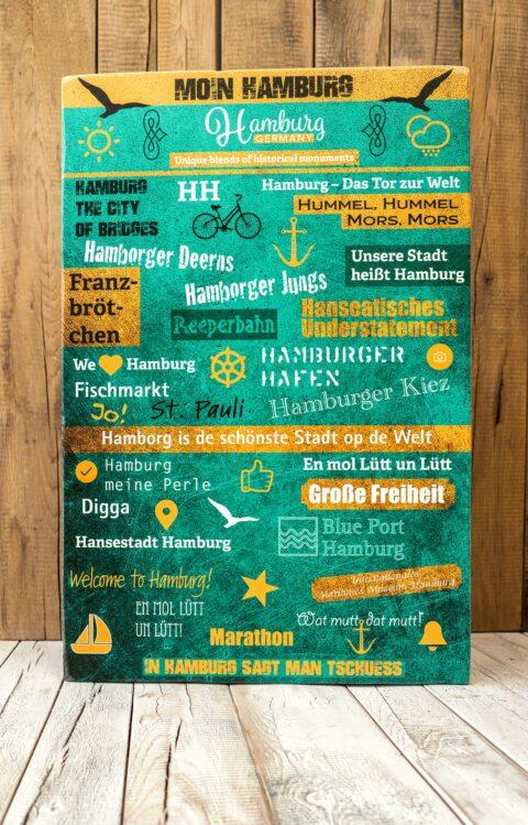 Logos und Design auf Holz