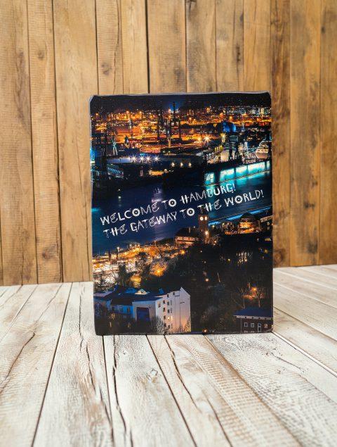 Welcome to Hamburg! The Gateway to the world!