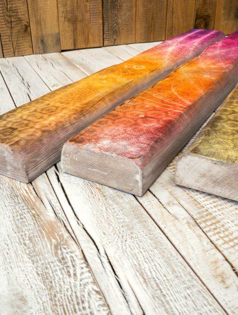Durch die Tiefe der rustikalen Holzbalken erhalten deine Räume eine schöne Ausstrahlung
