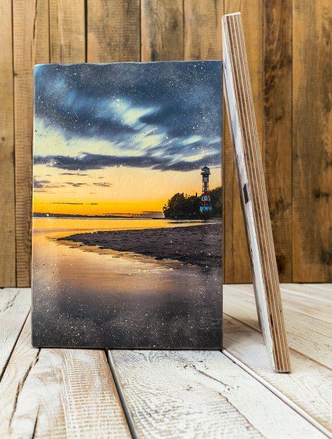 Mit Holzbilder positive Impulse und Leben ins Büro bringen