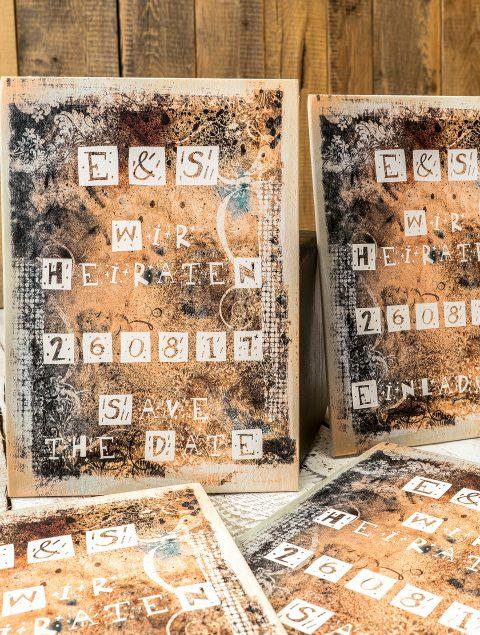 Mehr Individualität durch den Druck von Einladungskarten aus Holz