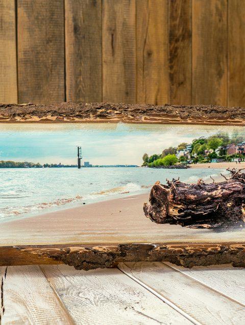 Holzbilder der Natur entsprechend